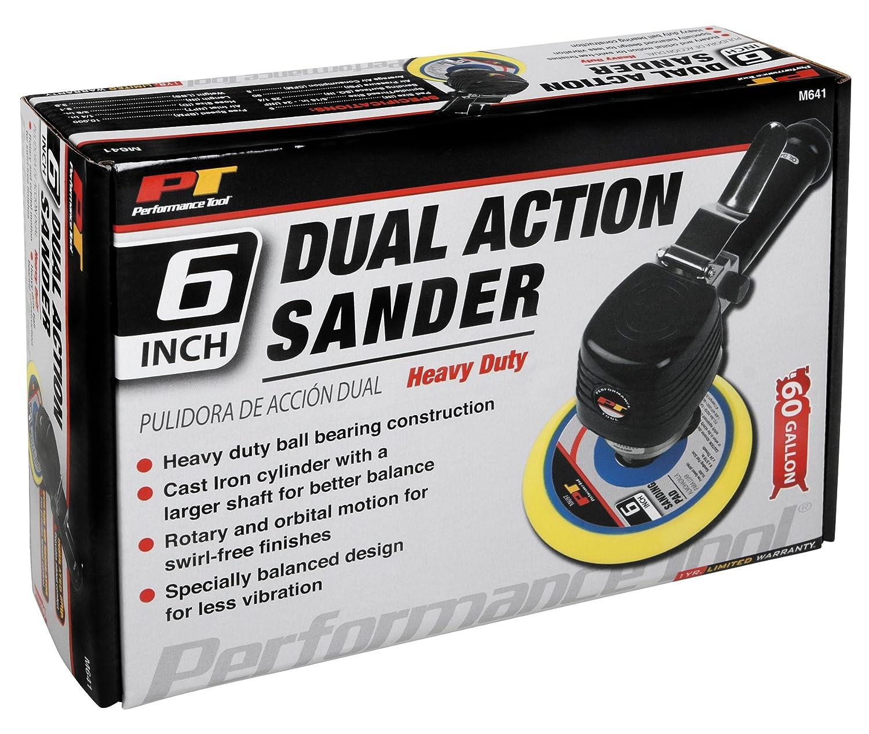 NULL Performance Tool M574DB Dual Piston Straight Line Sander