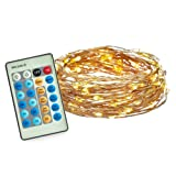 Amazon Price History for:Radiance Dimmable Starry String Lights, 33 ft, Copper Wire, Warm White
