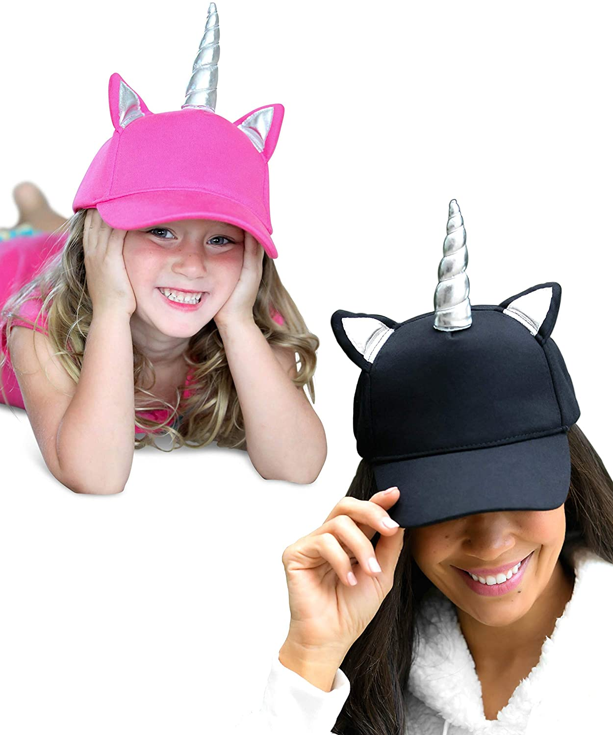 f3f34fbd8a8 Amazon.com  Baseball Cap for Girls - Kids Unicorn Hat for Women Teens Youth  - Unicorn Gifts for Easter   Spring  Clothing