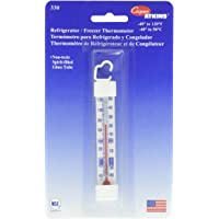 Cooper-Atkins 330-0-1 Refrigerator/Freezer Vertical Glass Tube Thermometer