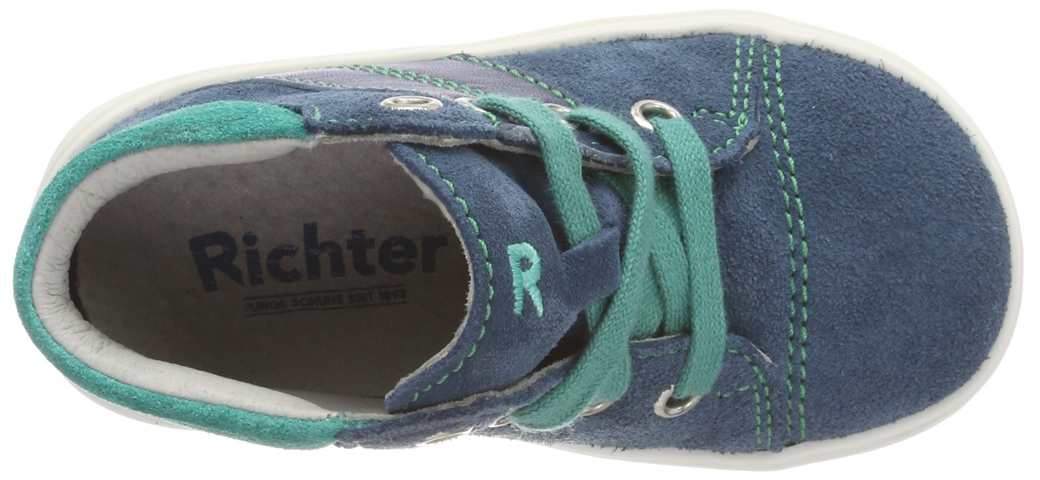 Richter Kinderschuhe Boys' Jimmy Derbys, Blue (Pacific/Menta 6701), 7.5 UK by Richter Kinderschuhe (Image #7)