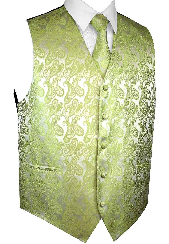 Tie /& Pocket Square Set Mens Tuxedo Vest