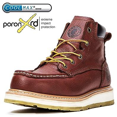 ROCKROOSTER Men s Work Boots 4973a7d70141