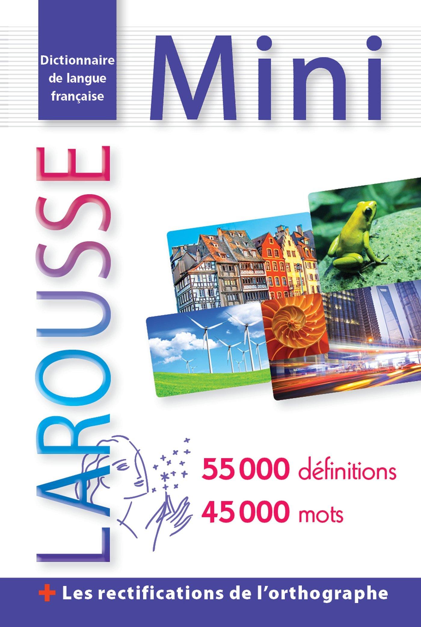 Larousse Dictionnaire Mini Plus De Francais French Edition