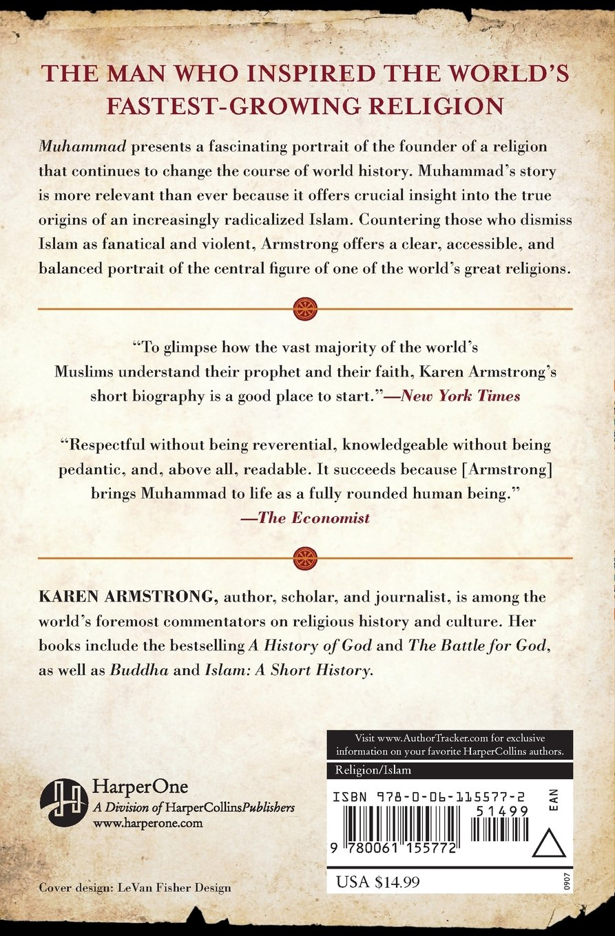Muhammad: A Prophet For Our Time: Karen Armstrong: 9780739482636:  Amazon: Books