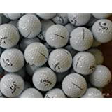 24 CALLAWAY CHROME SOFT GOLF BALLS - PEARL / GRADE A LAKE BALLS