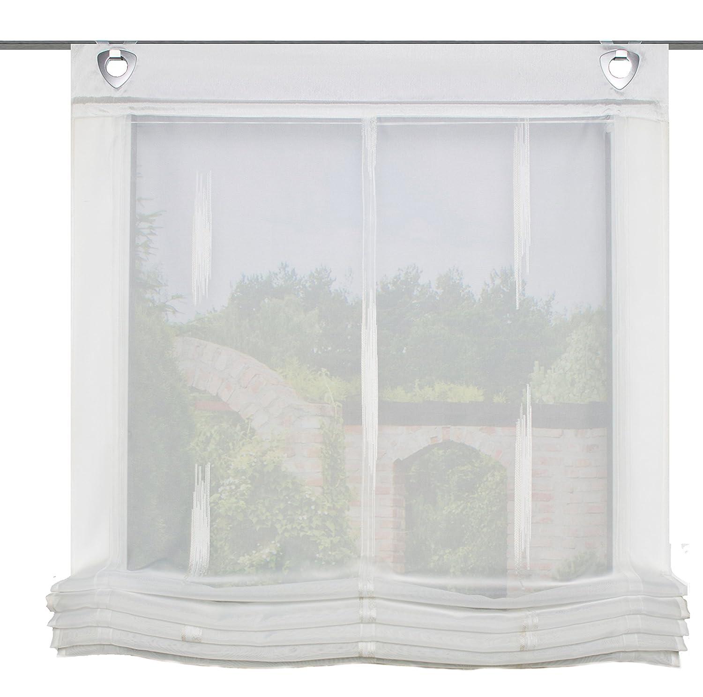 Home fashion 91357–811tenda a pacchetto, plastica, colore naturale, 140x 60cm 91357-811