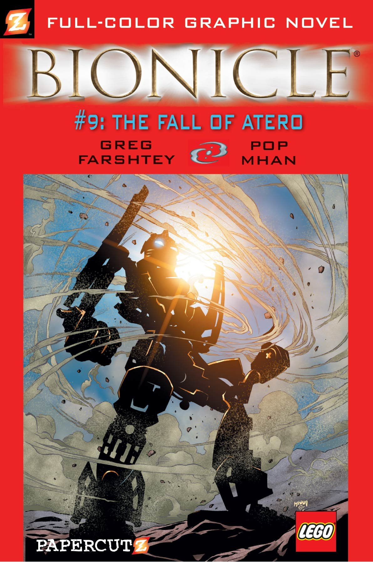 Bionicle #9: The Fall of Atero (Bionicle Graphic Novels) pdf
