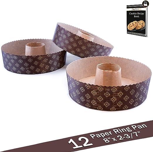 Amazon.com: Anillo molde sartén, anillo de papel desechables ...