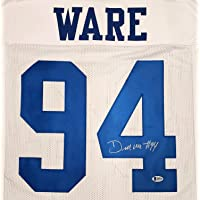 $211 » Authentic Autographed Dallas Demarcus Ware White Jersey Beckett
