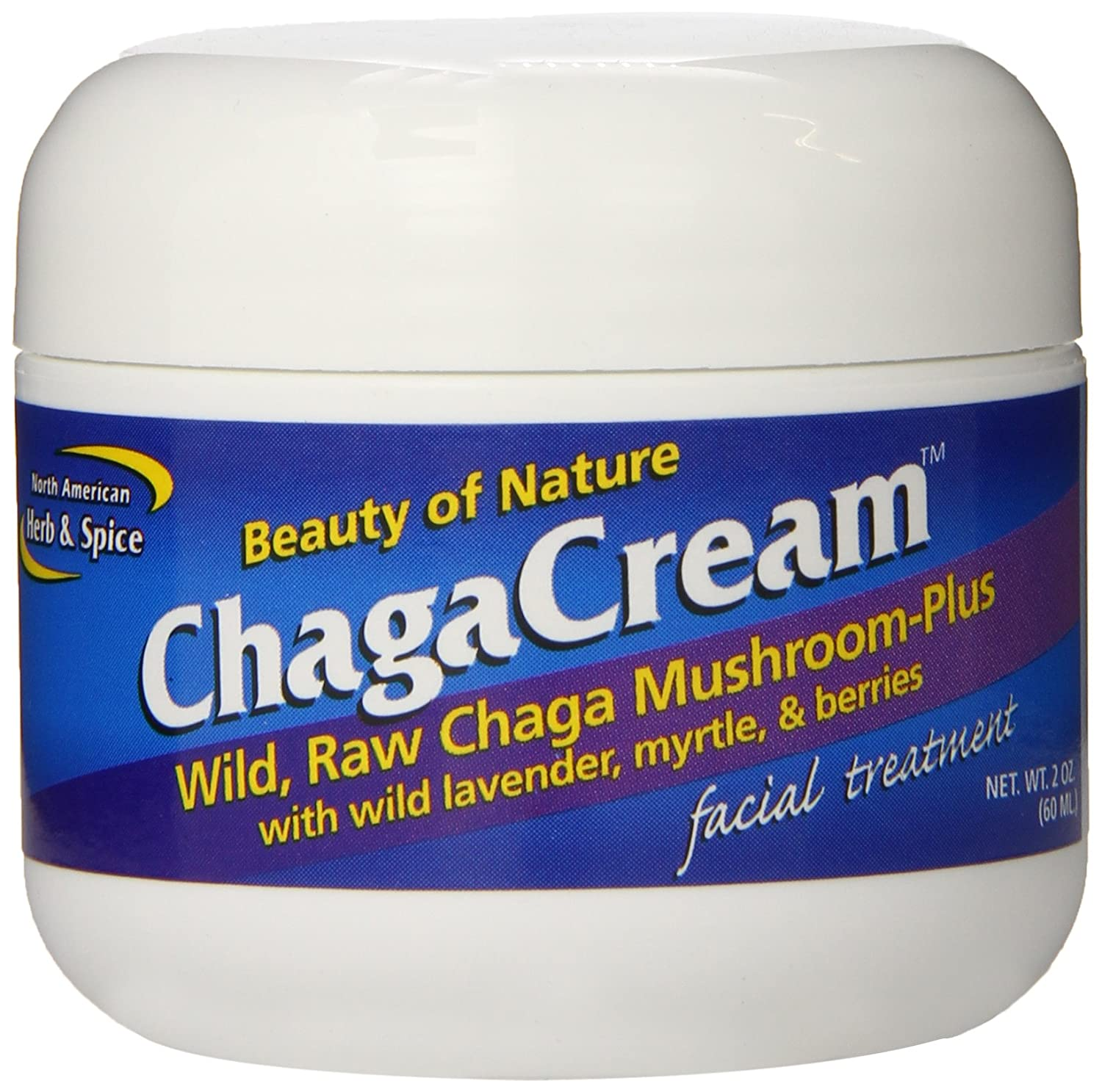 North American Herb and Spice, Chagacream Facial Treatment, 2-Ounce 635824005544