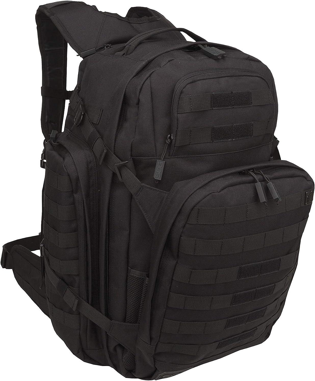SOG Barrage Tactical Internal Frame Backpack, 64.3-Liter Storage, Black : Sports & Outdoors