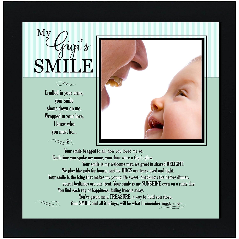 The Grandparent Gift Frame for Gigi My Gigi's Smile The Grandparent Gift Co. 4285