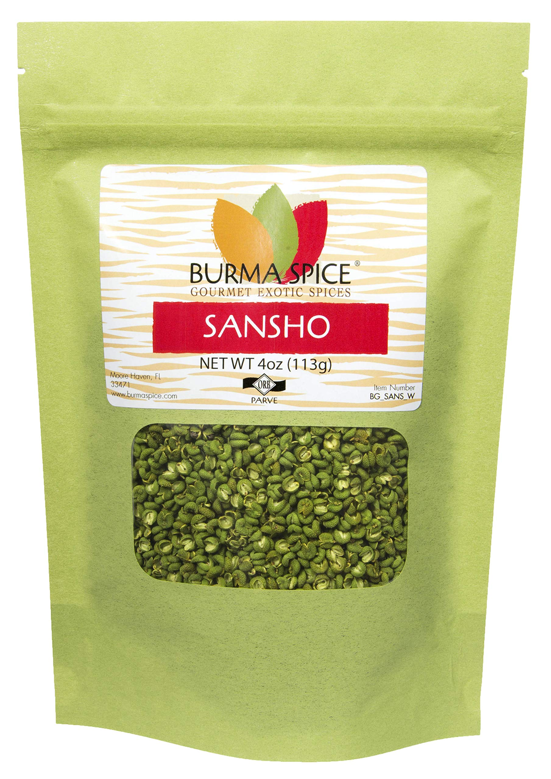 Sansho : Peppercorn : Japanese Prickly Ash, Asian, Chinese Cuisine : Citrus Herb Zing (4oz.)