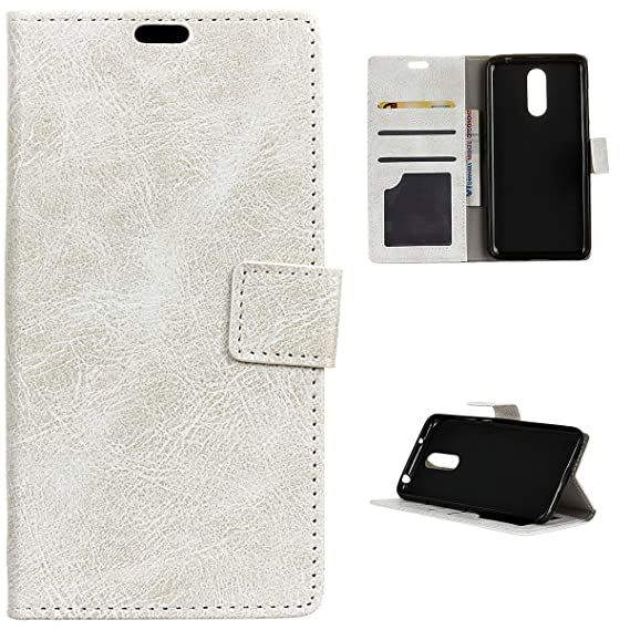 online store 3d548 5beab Amazon.com: (For Motorola Moto M) Flip Wallet Case Cover and 360 ...