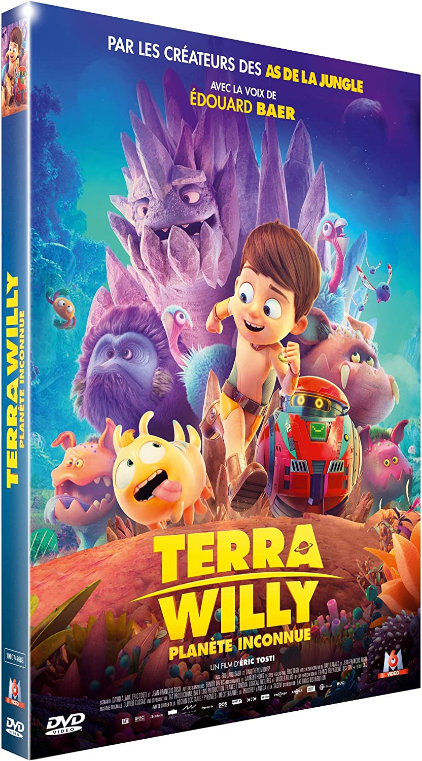 dvd du film terra willy