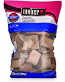 Weber-Stephen Products 17148 Hickory Wood Chunks, 350 cu. in. (0.006 cubic meter)
