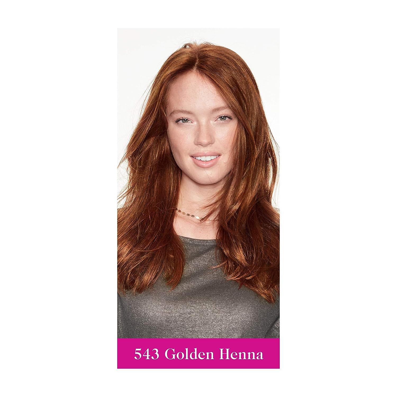 Amazon Com L Oreal Casting Creme Gloss 543 Golden Henna Brown Semi