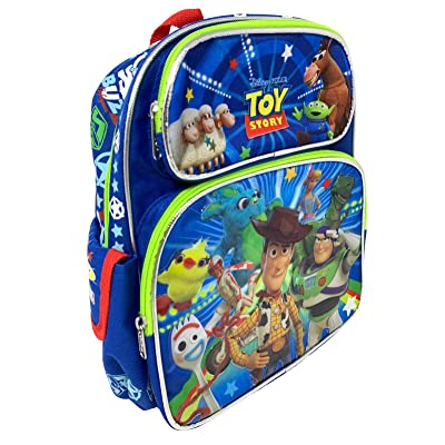 "Disney Toy Story 4 Kids Backpack 12"" Small Bag- Taking Action-19395 