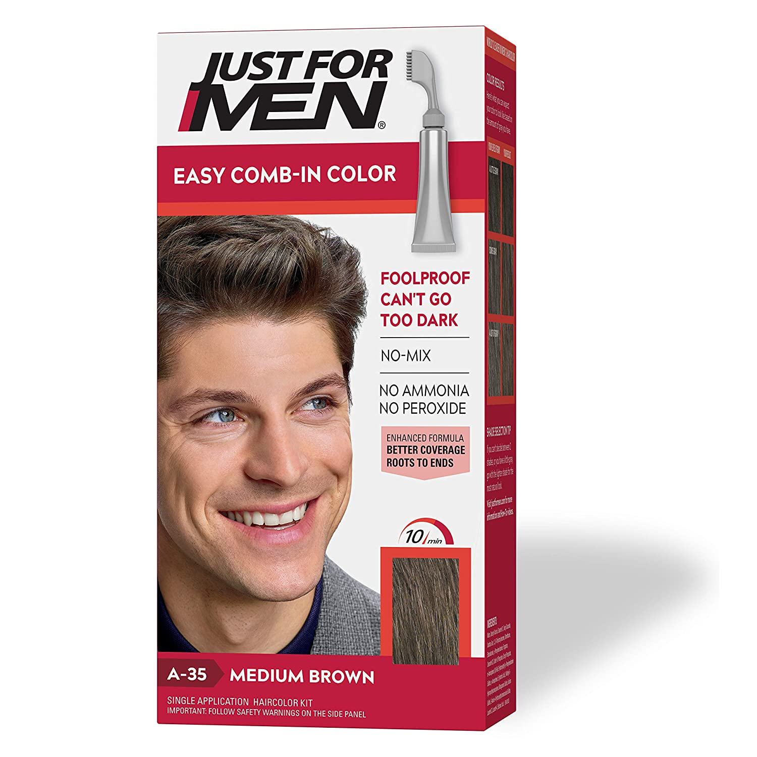Just For Men Easy Comb-In Color Review