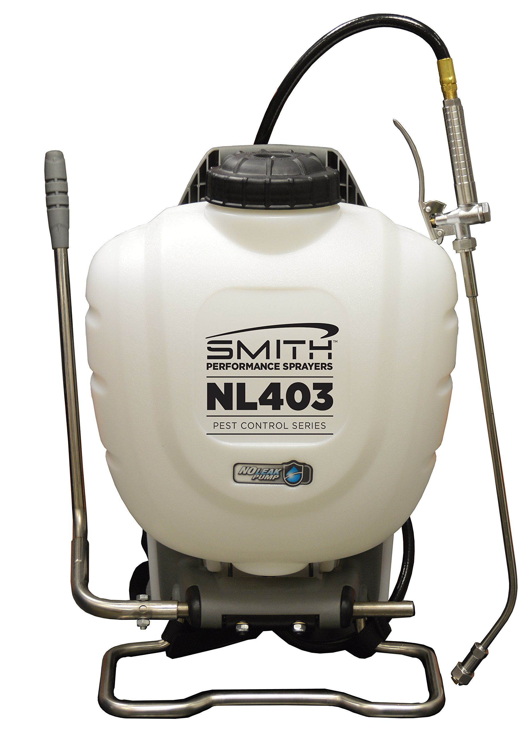 Smith Performance Sprayers 190442 No-Leak Backpack Sprayer for Pest Control, 4 Gallon, NL403 by Smith Performance Sprayers