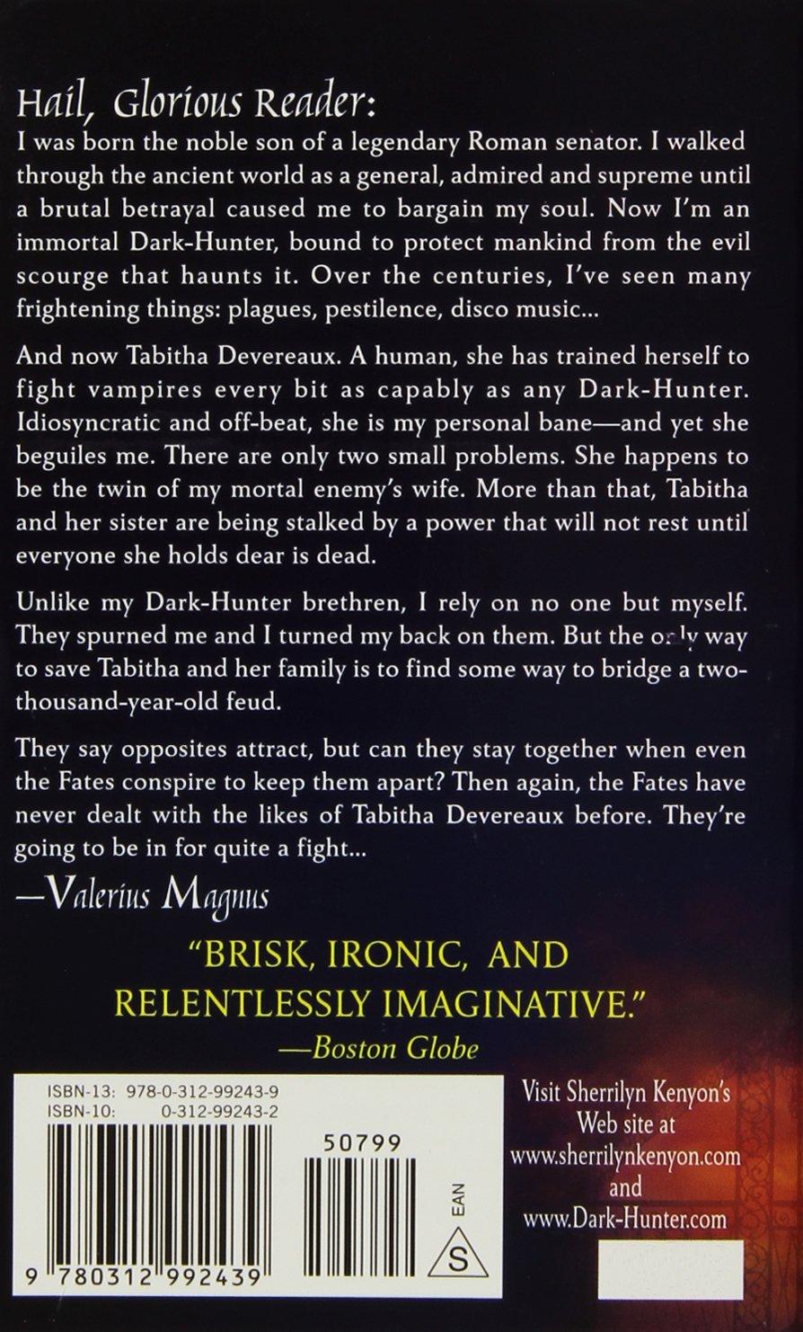Seize The Night (darkhunter, Book 7): Sherrilyn Kenyon: 9780312992439:  Amazon: Books
