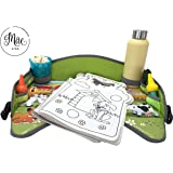 Mae KIDS Lap, Play & Snack Travel Tray - Premium Waterproof Surface Keeping your Child Amused in the Car, Bus, Plane or Stroller - Stress-free memories - Kids Safe, Certified Nontoxic & Chemical Free