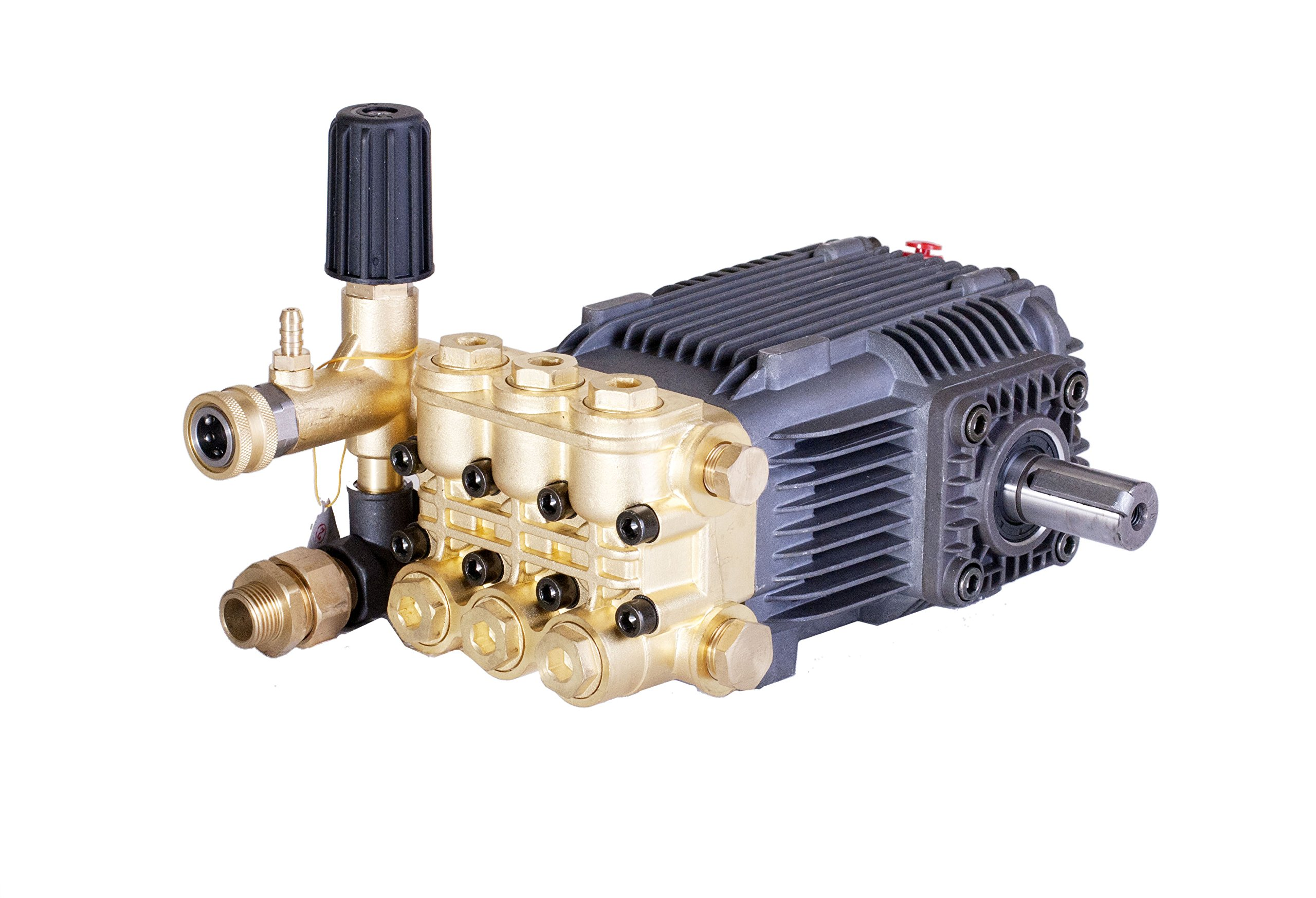 Pressure Power Washer Replacement Pump Solid Shaft 24 mm Belt Drive 3600 PSI