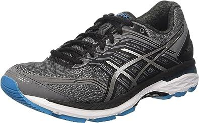 Asics Gt-2000 5, Zapatillas de Gimnasia para Hombre, Gris (Carbon/Silver/Island Blue), 39 EU: Amazon.es: Zapatos y complementos