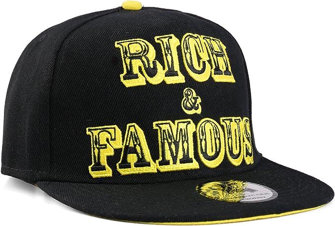 Underground Kulture Gorra Snapback Rico y Famoso (Rich & Famous ...