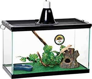 Zilla Reptile Starter Kit 10 with Light and Heat