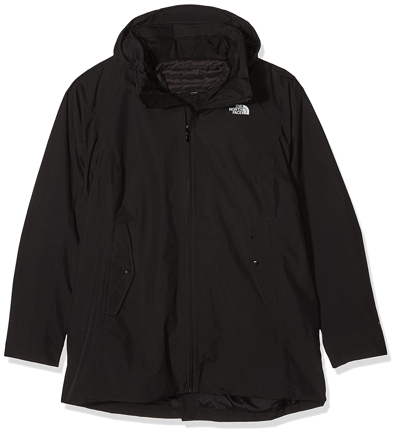 The North Face W Brownwood Triclimate Jacket Chaqueta, Mujer, Negro, S