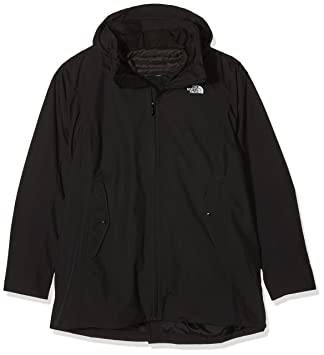 The North Face W Brownwood Triclimate Jacket Chaqueta, Mujer, Negro, L