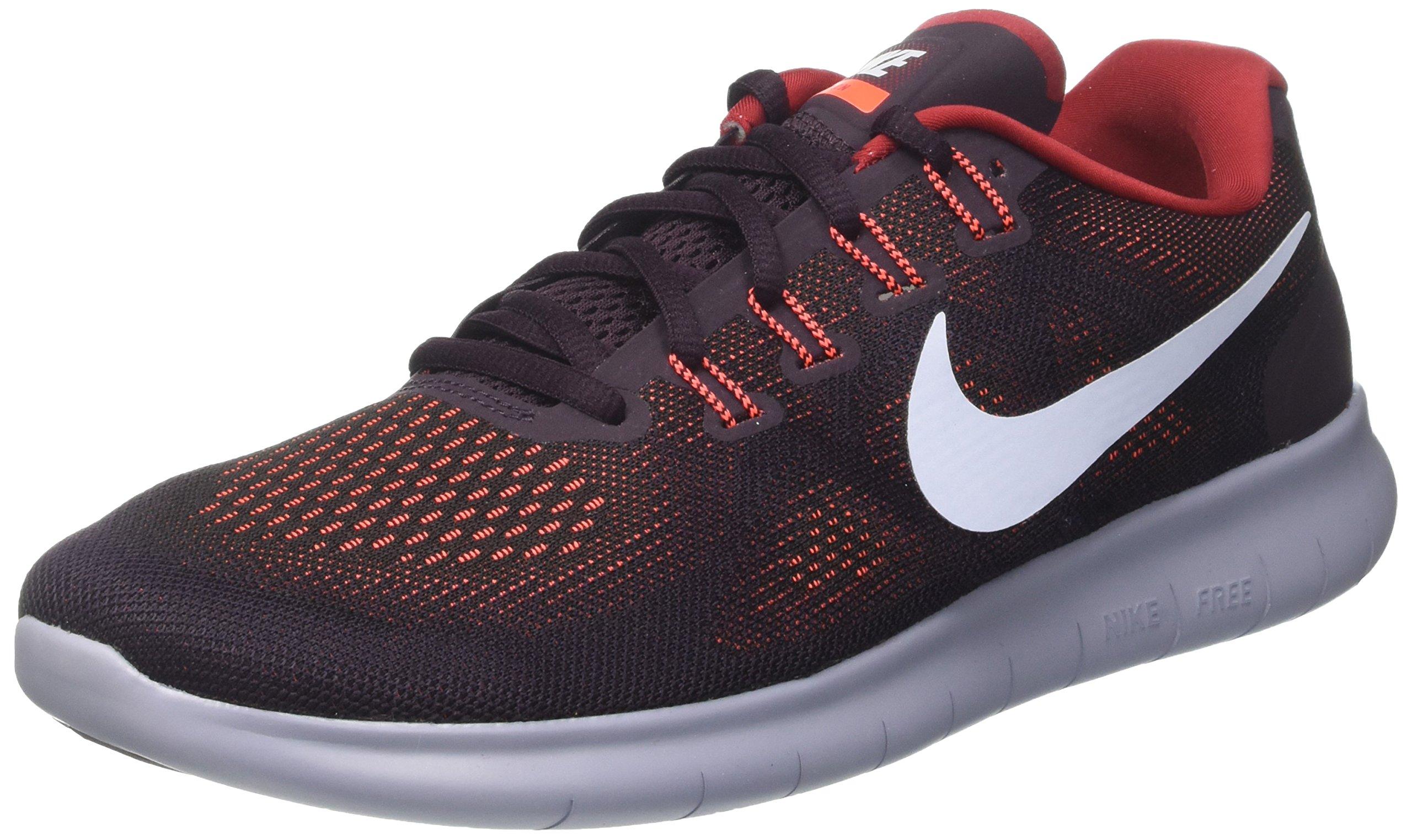 Nike Mens Free RN 2017 Running Shoe Black/Hydrogen Blue-Tough Red 9 D(M) US