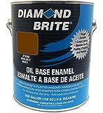 Diamond Brite Paint 31600 1-Gallon Oil Base All Purpose Enamel Paint   Walnut