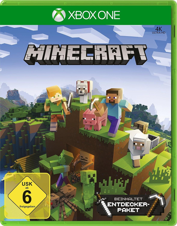 Minecraft Xbox One Edition Inkl Explorers Pack Amazonde Games - Minecraft zusammen spielen ipad