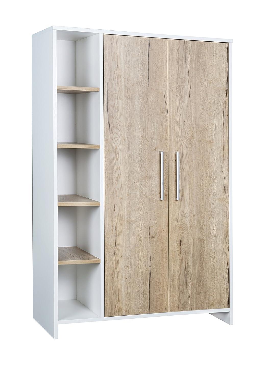 Schardt 06 566 09 00 Schrank mit 2 Türen und Seitenregal Eco Plus