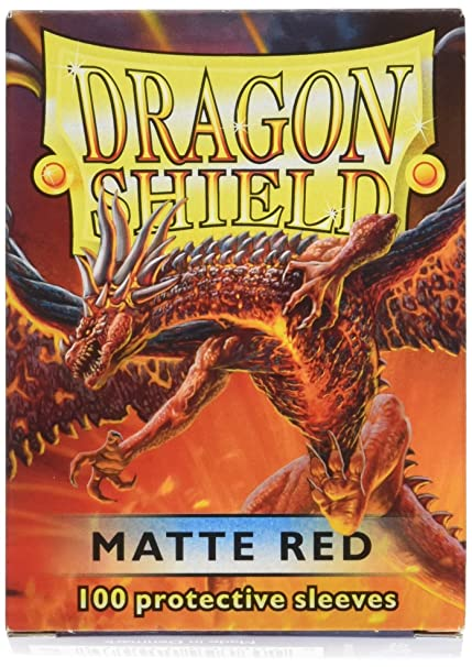 Dragon Shield Standard Sleeves Matte Red