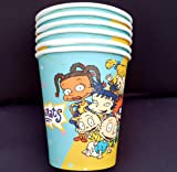12PC CUP PLATE RUGRATS PARTY SUPPLIES DECORATION