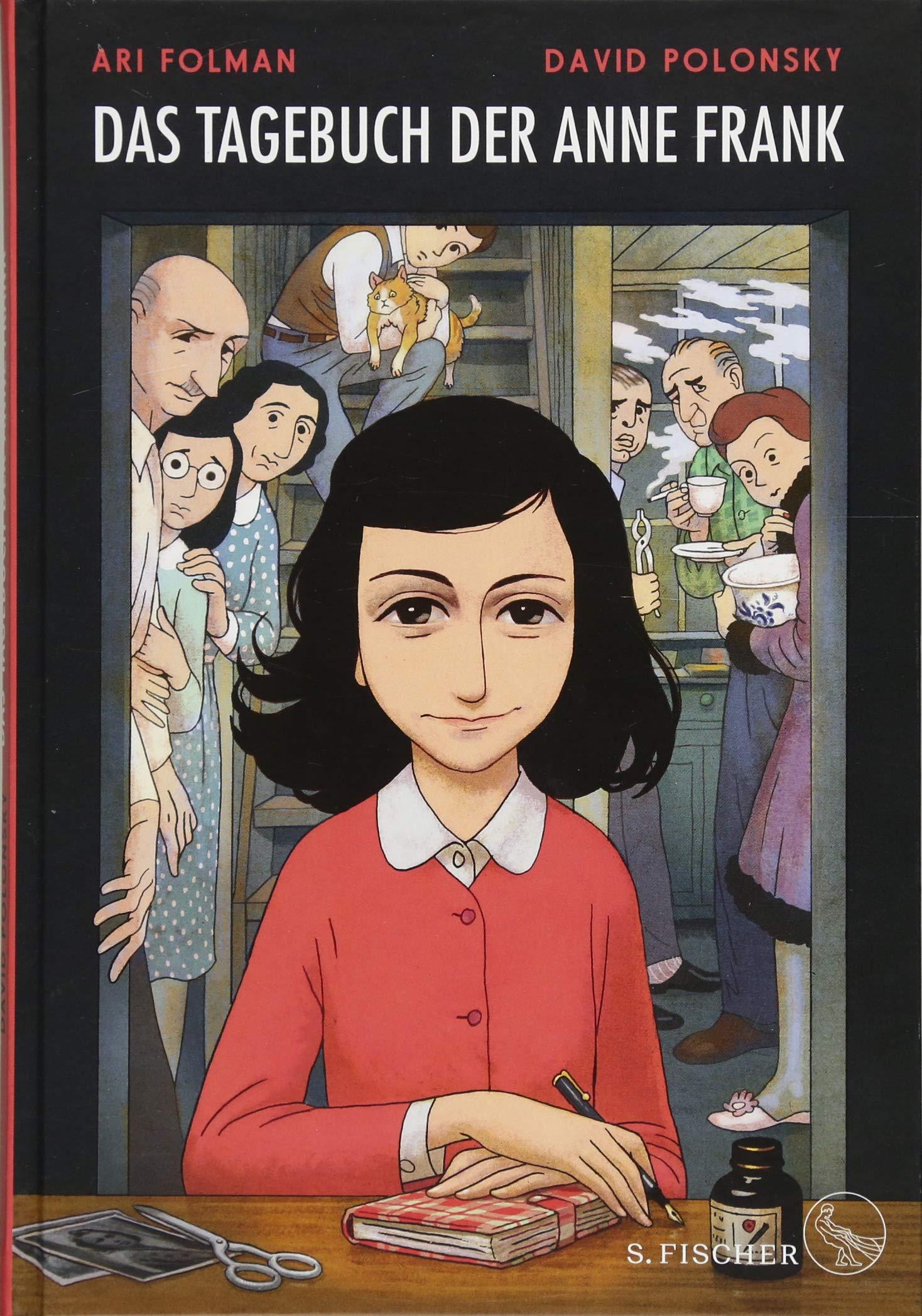 Das Tagebuch der Anne Frank: Graphic Diary. Umgesetzt von Ari Folman und David Polonsky Gebundenes Buch – 5. Oktober 2017 Mirjam Pressler Klaus Timmermann Ulrike Wasel S. FISCHER