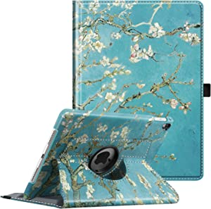 Fintie Case for iPad Pro 9.7-360 Degree Rotating Stand Protective Cover with Smart Stand Cover Auto Sleep/Wake Feature for iPad Pro 9.7 Inch (2016 Version), Blossom