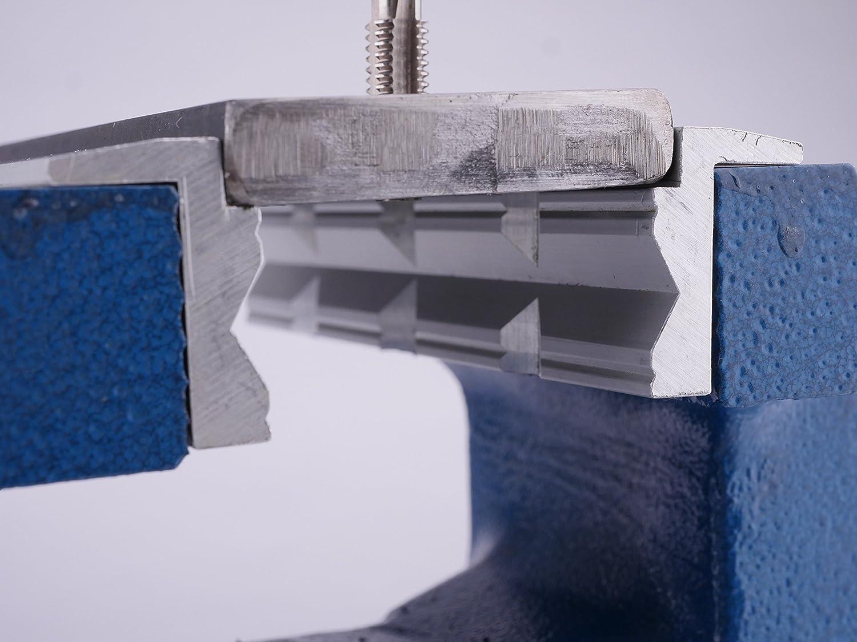 GSR Mors de protection pour /étau 150 mm En aluminium//Prismes /à mors de serrage aimant/és