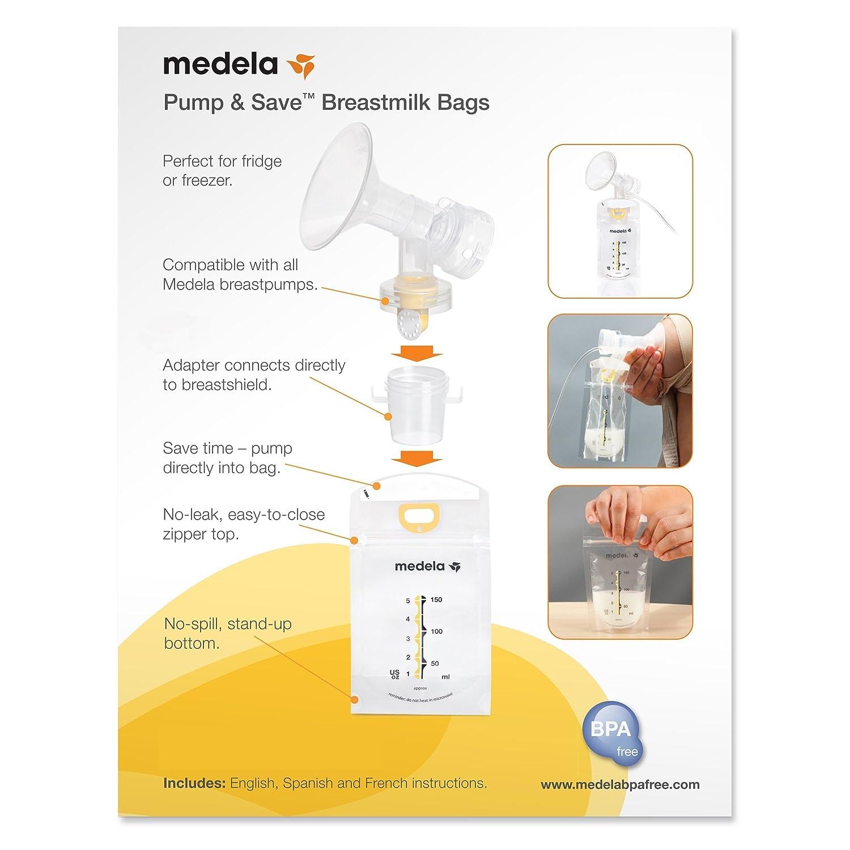 Medela 008.0315 bolsas para leche