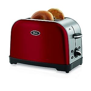 Oster 2-Slice Toaster, Red (TSSTTRWF2R)