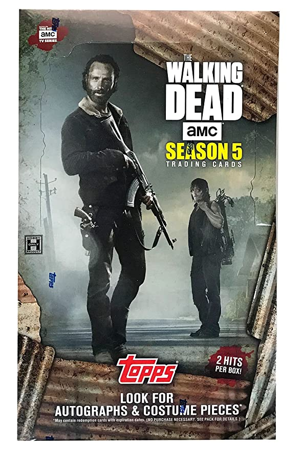 2016 Topps Teatro en el Extranjero The Walking Dead Temporada 5 ...