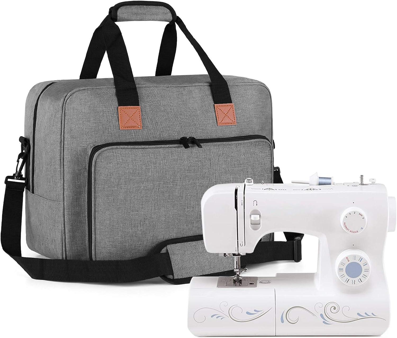 Luxja Bolsa para Kit de Costura agujas tijeras y otras herramientas de costura Bolsa para hilo Solo Bolsa P/úrpura Bolsa para Suministros de Costura