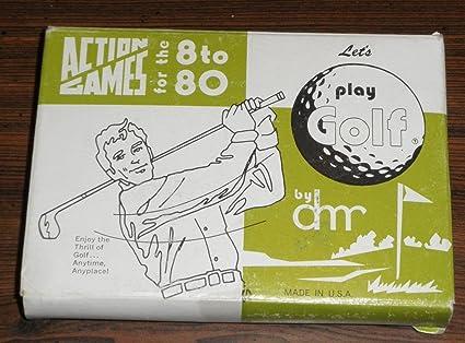 Amazon.com: Let s Play Golf Juegos de acción: Toys & Games