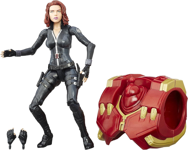 "In Hand Marvel Ledends Avengers 4 6/"" Marvel/'s Hawkeye /& Black Widow Toys Hero"