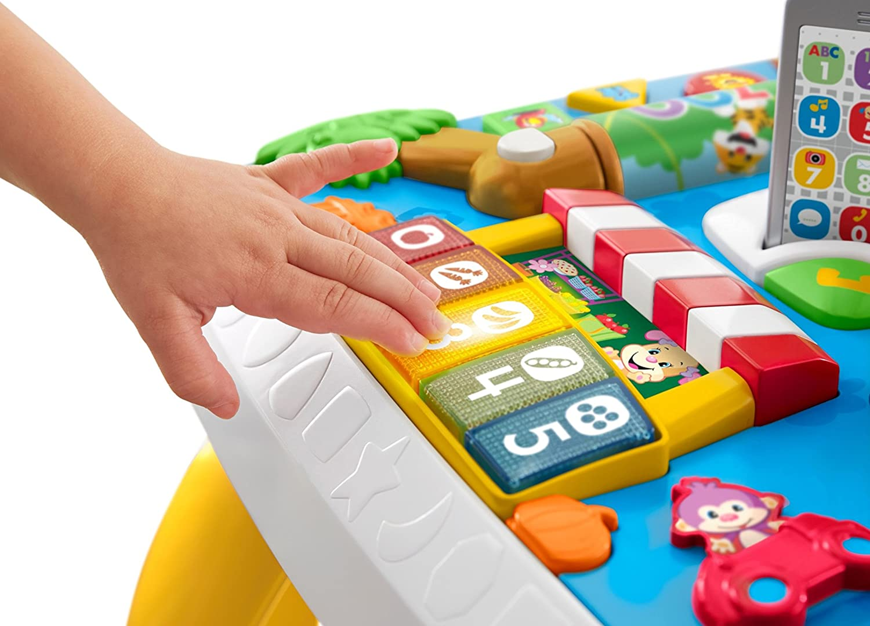 Mattel- Mesa MULTIAPRENDIZAJE Fisher Price BILINGÜE 3 Modos DE ...