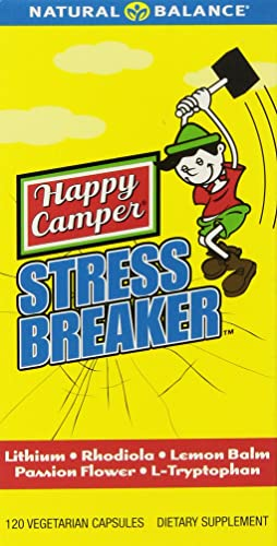Happy Camper Stress Breaker Natural Balance 120 VCaps